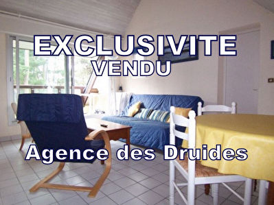 TEXT_PHOTO 0 - Achat vente appartement 1 chambre immobilier CARNAC 56340